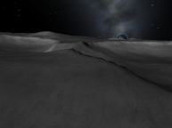 Kerbin Rise from the Rim