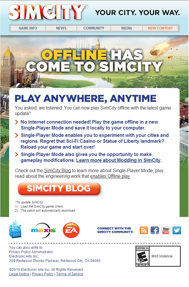 SimCity Your Way
