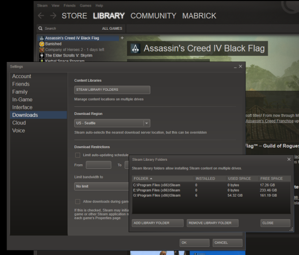 Steam Library Creation