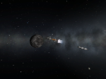 Dres Orbital Burn Nearly Complete