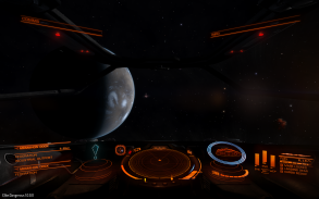 Approaching a Planet using Super Cruise