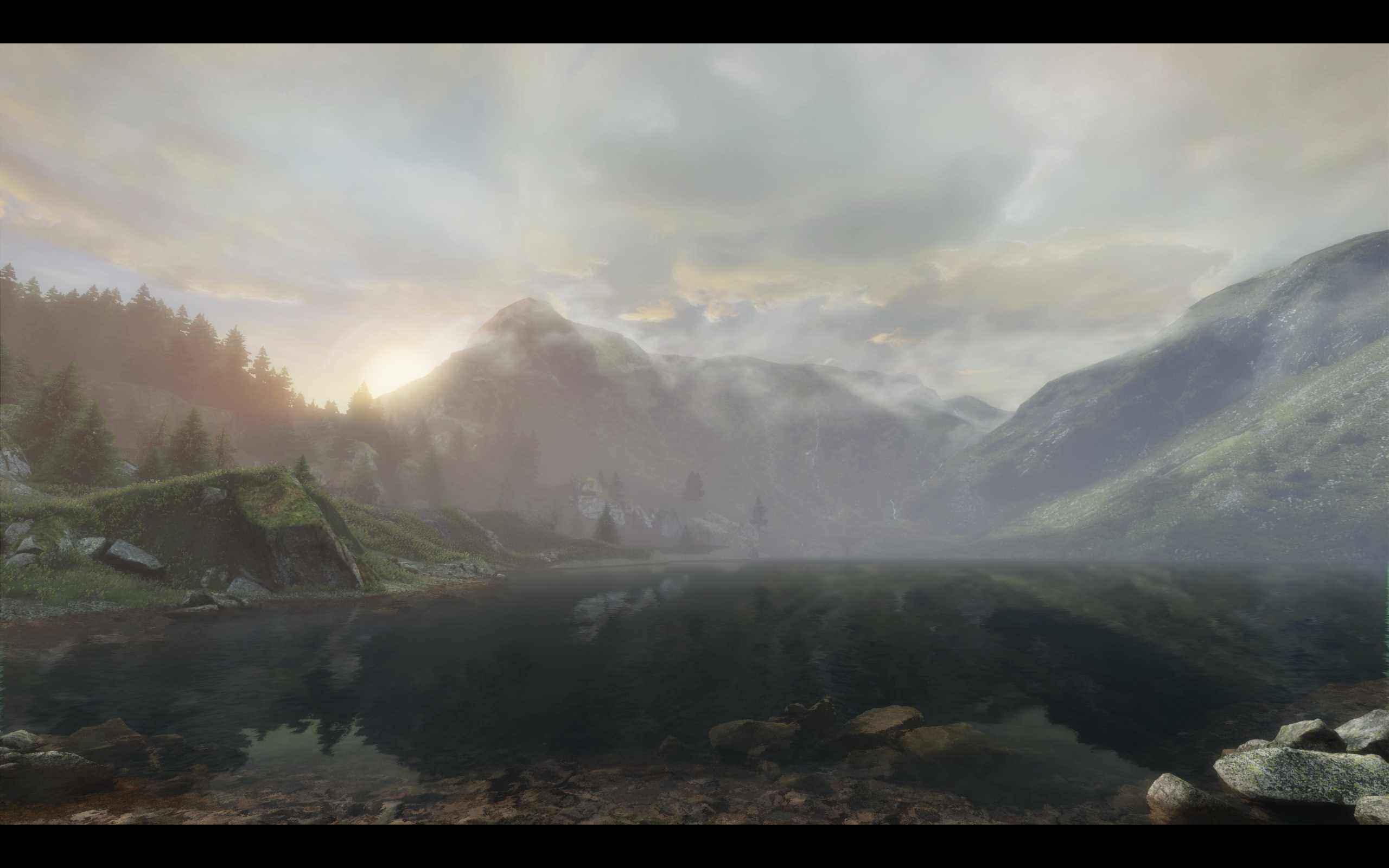 Beginning of Final Scene in The Vanishing of Ethan Carter