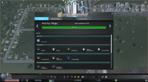 Before you know it you'll have hit another milestone, with all the new unlocks they bring. The second milestone unlocks policies which you can place on all, or just parts of your city. Policies help you guide your city in the direction you want it to grow. This milestone is where you'll receive the first of your industrial specializations.