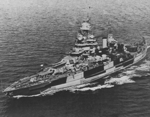 BB-45 USS Colorado