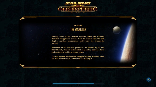 Smuggler Prologue